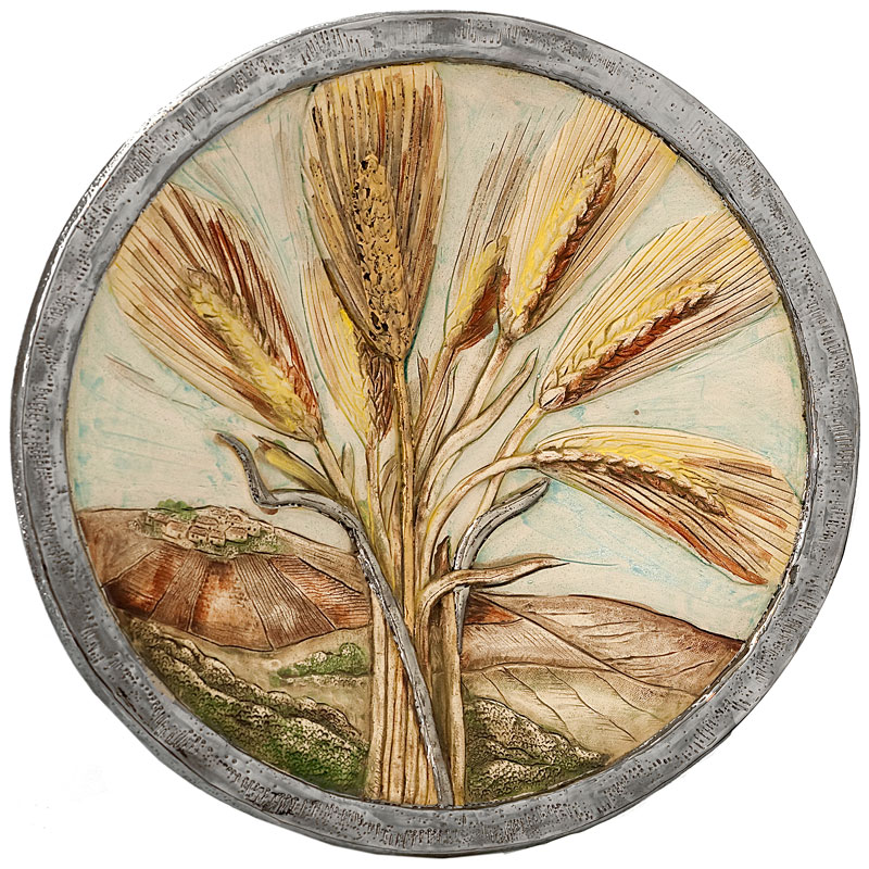 Wheat plate