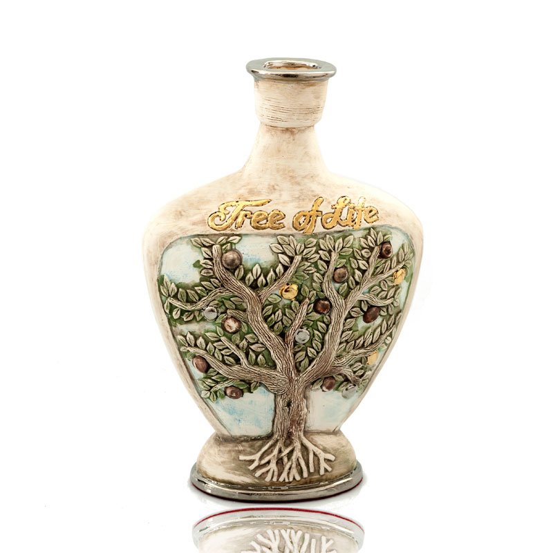 Vase with tree of life motive