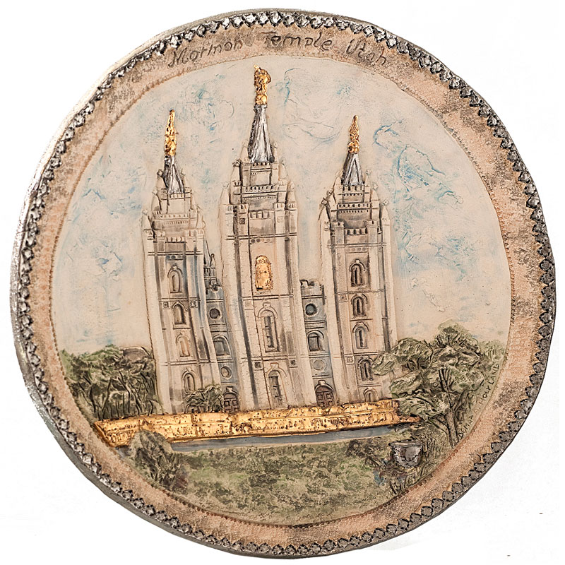 Temple plate