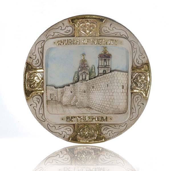 Church of nativity plate