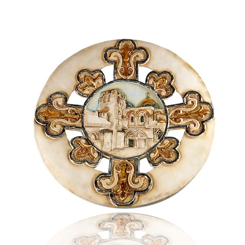 The holy sepulcher plate