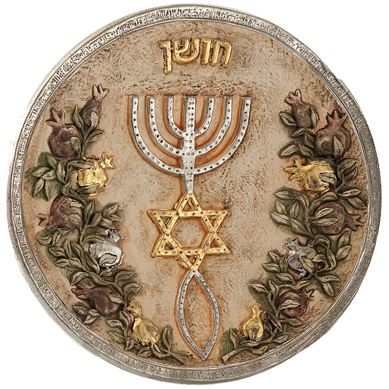 Plate with hoshen